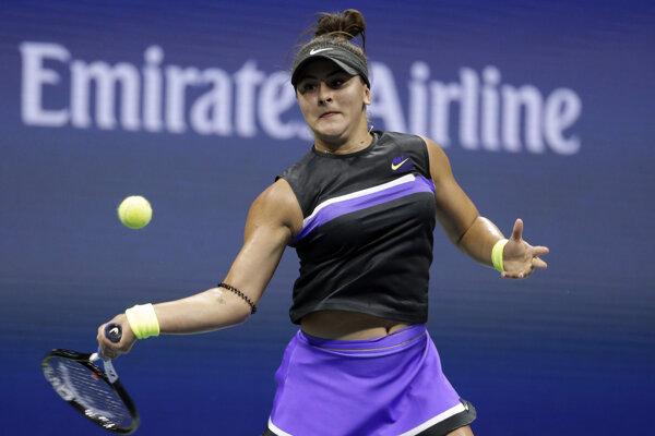 Bianca Andreescu si pri premiére na US Open zahrá v semifinále.