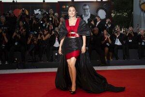 Herečka Gong Li.