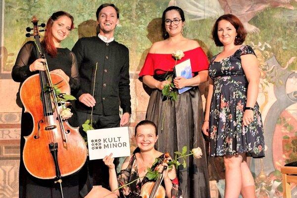 Quasi Trio, V.Šlepec a E. Palovčíková.