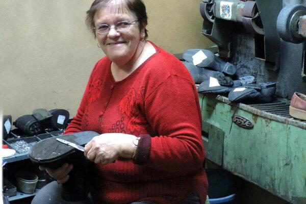 Jana Celengová, obuvníčkou je celý život.