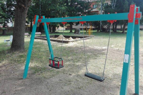 Detské ihrisko na Sokolíkovej ulici.