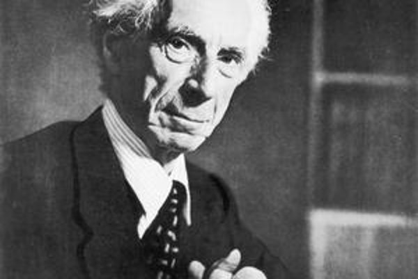 Otec analytickej filozofie Bertrand Russell.