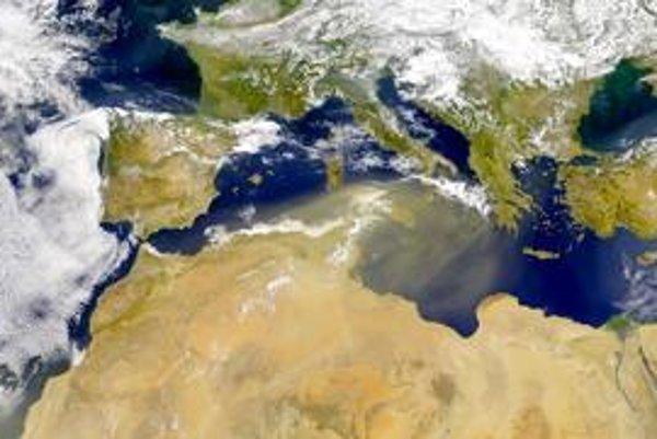 Stredozemné more v minulosti vyschlo.