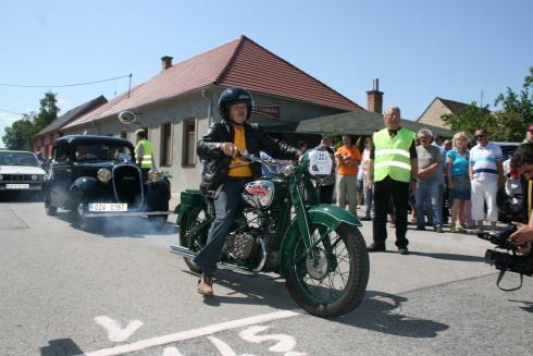 motorka na starte