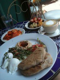 marocké raňajky, odporúčam marinovanú mrkvu