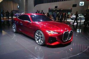 Autosalón Frankfurt 2019 - BMW Concept 4