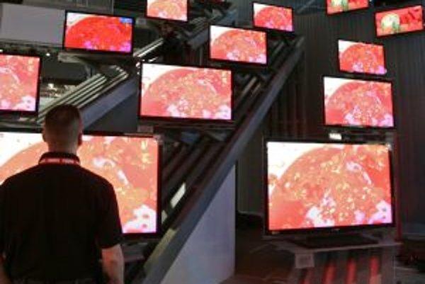 Hitom Slovákov sú najmä LCD televízory.