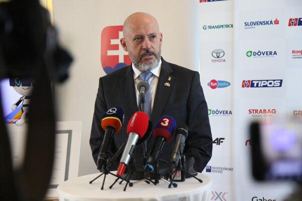 Prezident SOŠV Anton Siekel.