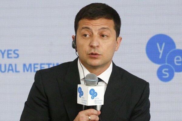 Ukrajinský prezident Volodymyr Zelenskyj.