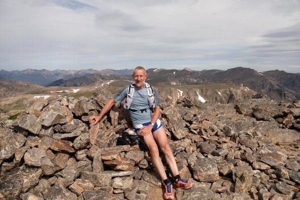 Na vrchole Hallett Peaku.