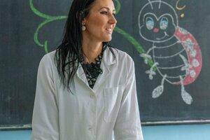 Dôležitý je úsmev a dobrá nálada v triede, tvrdí mladá učiteľka.