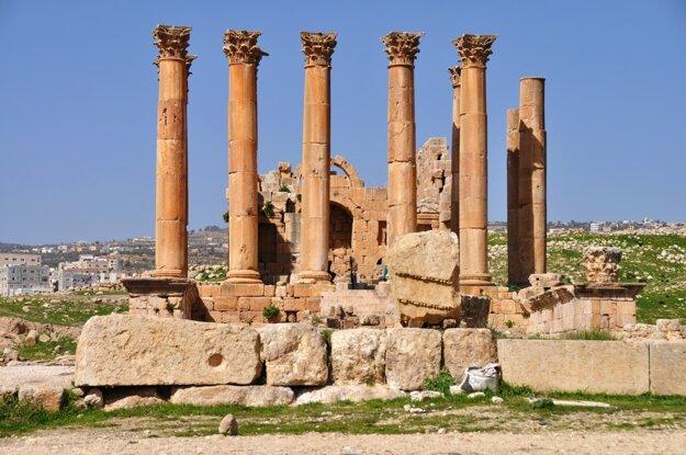 Jerash sú jordánske Pompeje