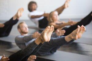 Pri pilatese nerobíte žiadne prudké trhavé pohyby. Svaly sa formujú pomocou napätia a vytrvalosti.