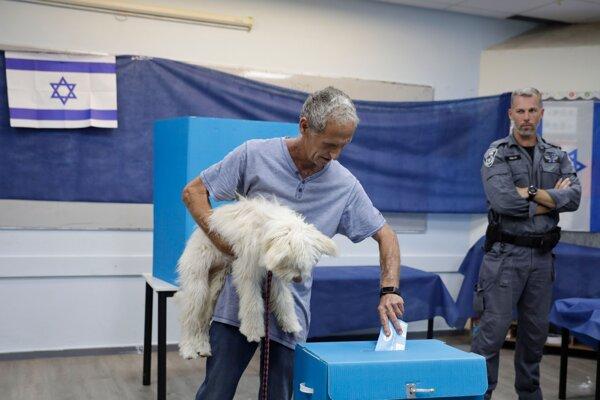 Utorkové predčasné voľby v Izraeli.