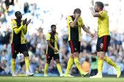 Ponížení hráči Watfordu.
