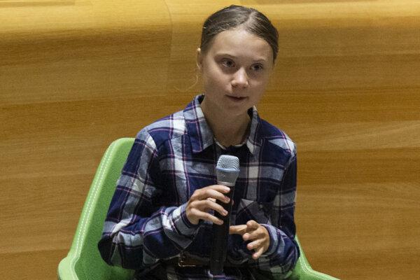 Greta Thunbergová otvorila klimatický summit.