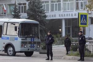 Ruská polícia zabránila útoku na škole v meste Kirov.