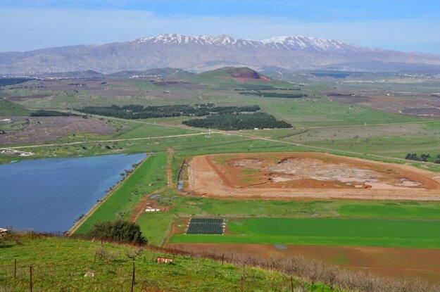 Pohľad z Golanských výšin