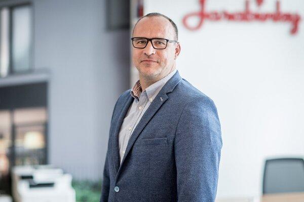Prezident Národnej asociácie realitných kancelárií Slovenska JÁN PALENČÁR.
