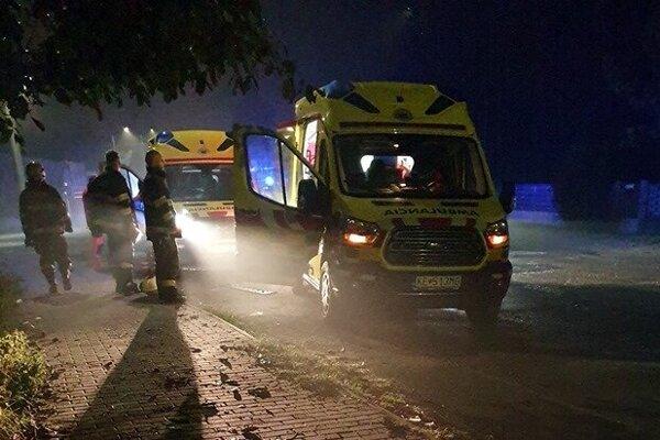Nehoda v Čani