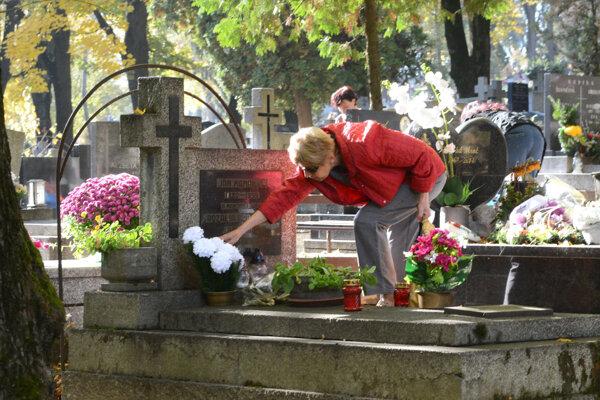 Verejný cintorín Košice.