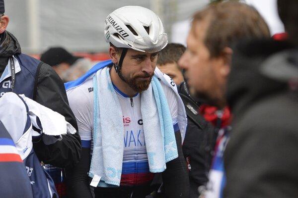 Peter Sagan po pretekoch na MS v cyklistike 2019.