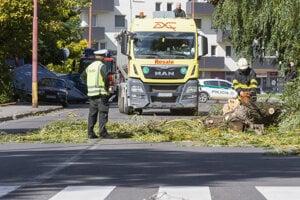 Počasie narobilo problémy aj na Slovensku.