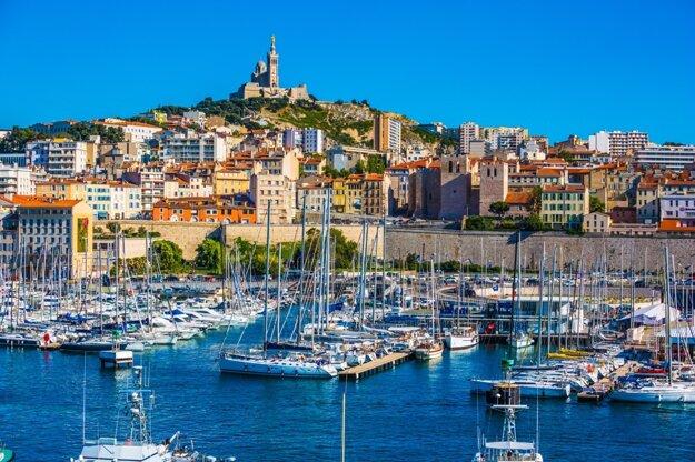 Prístav v Marseille