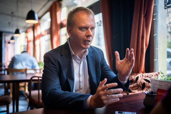 Šéf Spolu - Občianska demokracia a programový líder koalície PS/Spolu Miroslav Beblavý.