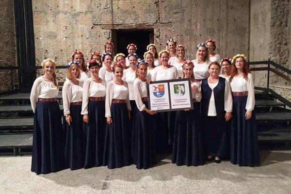 Úspech nášho speváckeho zboru.