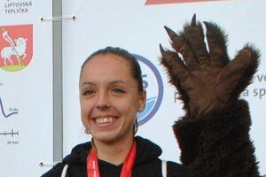 Andrea Hudáková má nakročené k prvenstvu medzi ženami.