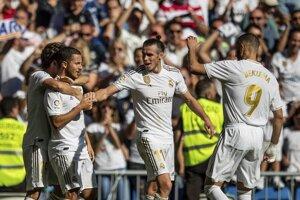 Futbalisti Realu Madrid na ilustračnej fotografii.
