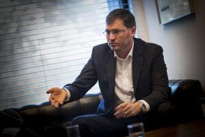 Šéf Poštovej banky Andrej Zaťko.