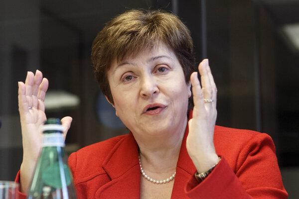 Nová šéfka Medzinárodného menového fondu (MMF) Kristalina Georgievová.