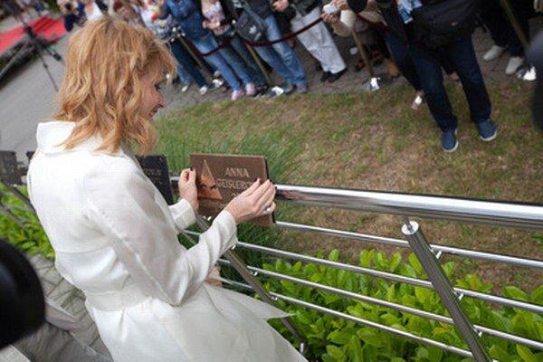 Anna Geislerová získala Hercovu misiu.