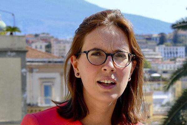 Francúzska ministerka pre európske záležitosti Amélie de Montchalinová.