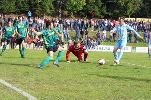 Prvý gól v podaní Slovana Bratislava.