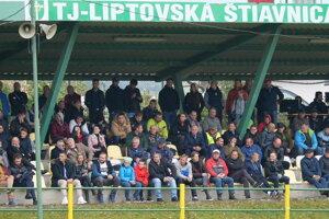 Na zápas so Slovanom sa prišlo pozrieť viac fanúšikov ako je zvykom.