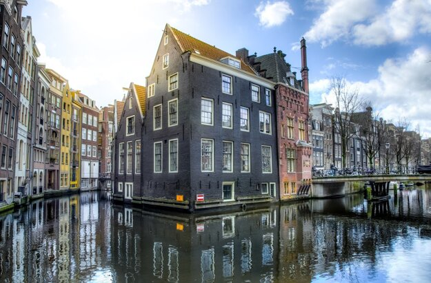 Štvrte s tradičnými holandskými domami