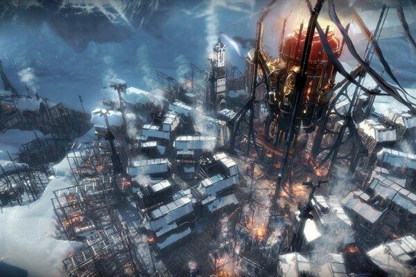 Najteplejšie na začiatku hry bude v tesnej blízkosti generátora. Tam zrejme postavíte aj obydlia ľudí.