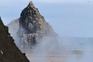 Ostrov Bogoslof.