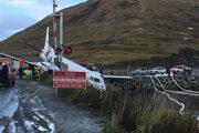 Nešťastie sa v Unalaske, hlavnom meste Aleutských ostrovov.