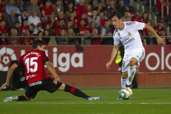 Momentka zo zápasu Mallorca - Real Madrid.