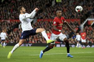 Momentka zo zápasu Liverpool proti Manchester United