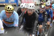 Peter Sagan na trati pretekov Elite v meste Harrogate na Majstrovstvách sveta v cyklistike 29. septembra 2019.