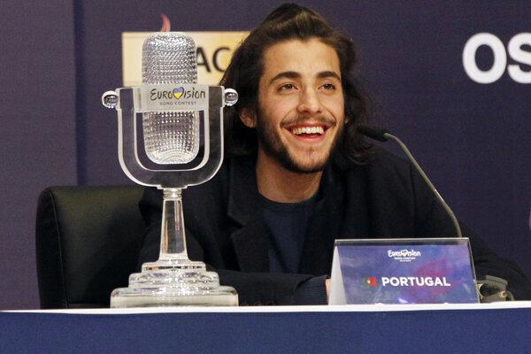 Víťaz Eurovízie 2017 Salvador Sobral.