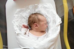 Linda Jeleňovská (2880 g, 49 cm) sa narodila 13. októbra Kataríne a Borisovi z Novej Dubnice.