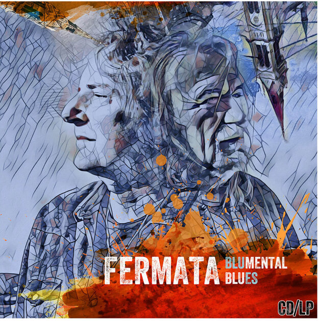 Obal nového CD Blumental blues.