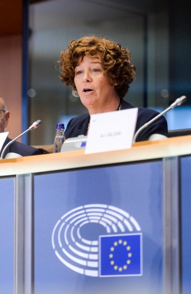 Petra De Sutterová, ešte ako belgická europoslankyňa.