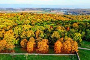 Jeseň v Pezinku a okolí